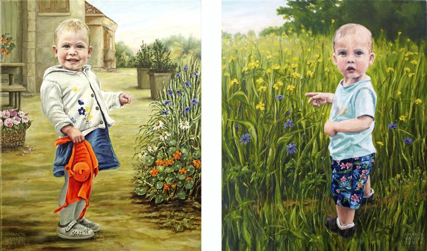 Kinderportretjes