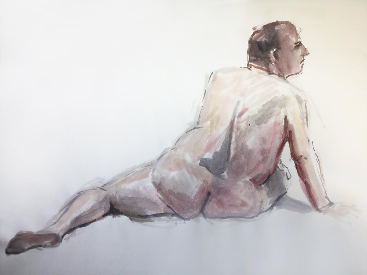 Human figure painting